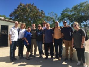 Dr. Daddio and team in Haiti